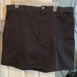 Black skirt with shorts Under